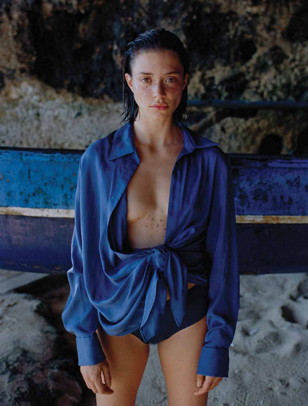Maeva Giani Marshall covers Eurowoman Denmark July 2020 by Jonas Bie