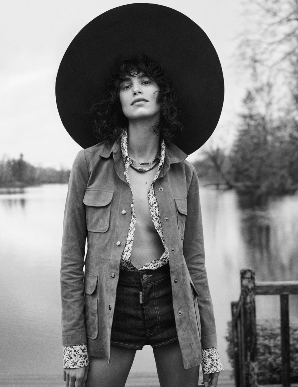Mica Argañaraz by Cass Bird for Vogue Paris July 2020
