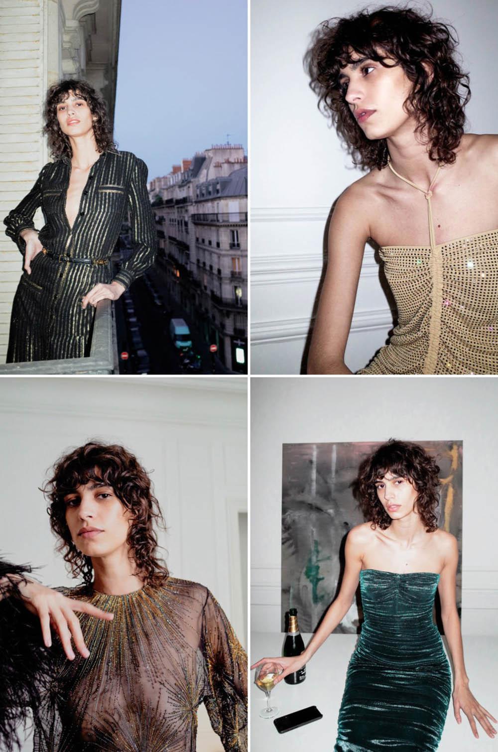 Mica Argañaraz by her boyfriend for Vogue Paris July 2020