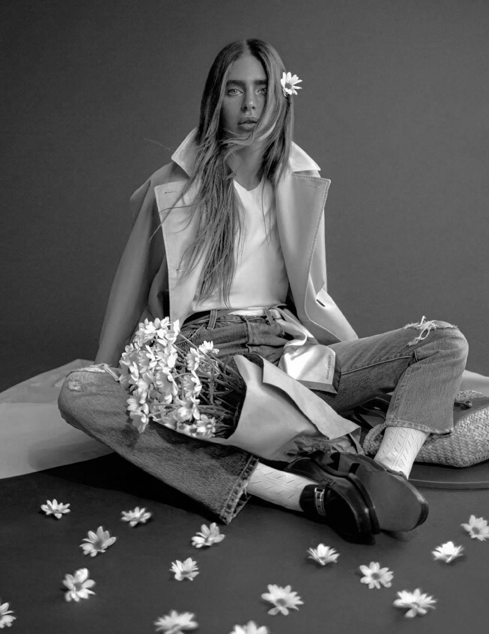 Minerva Portillo by Álvaro Gracia for Harper's Bazaar Spain July/August 2020
