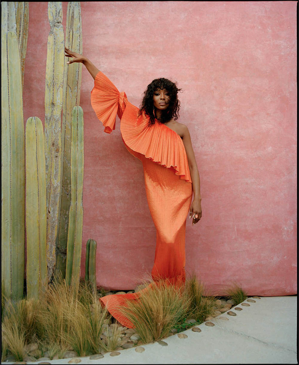 Naomi Campbell covers Vogue Spain July 2020 by Nadine Ijewere