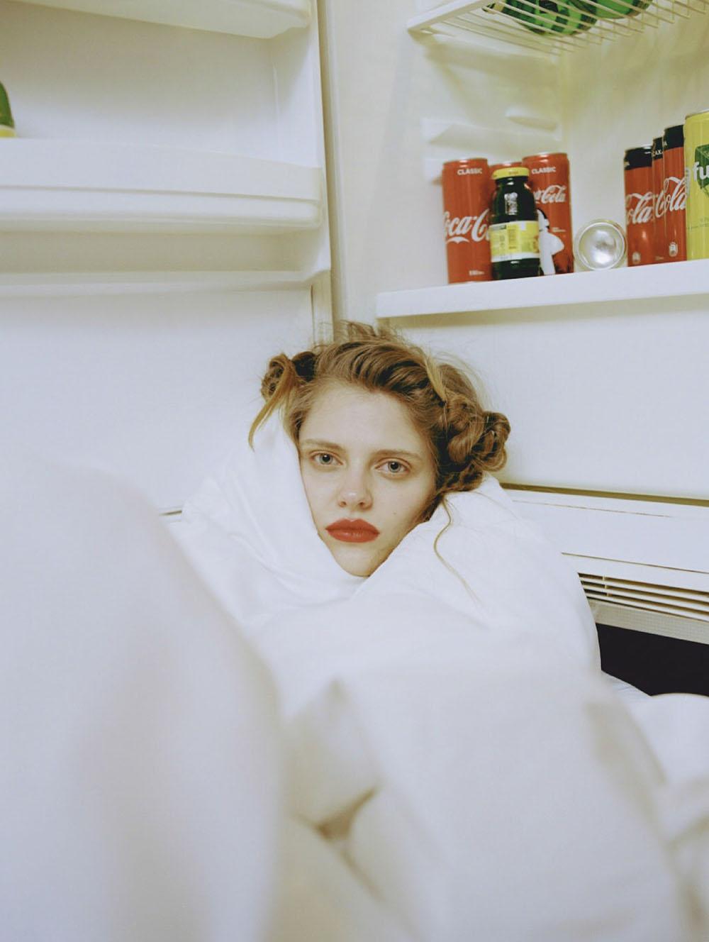 Nataliya Bulycheva covers Elle Russia July August 2020 by Eugene Shishkin