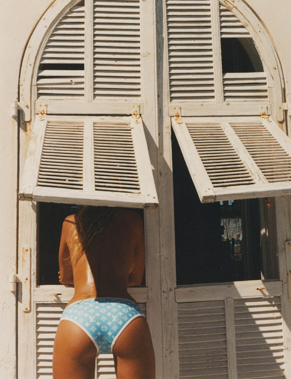 Natasja Madsen covers Vogue Paris July 2020 by Henrik Purienne