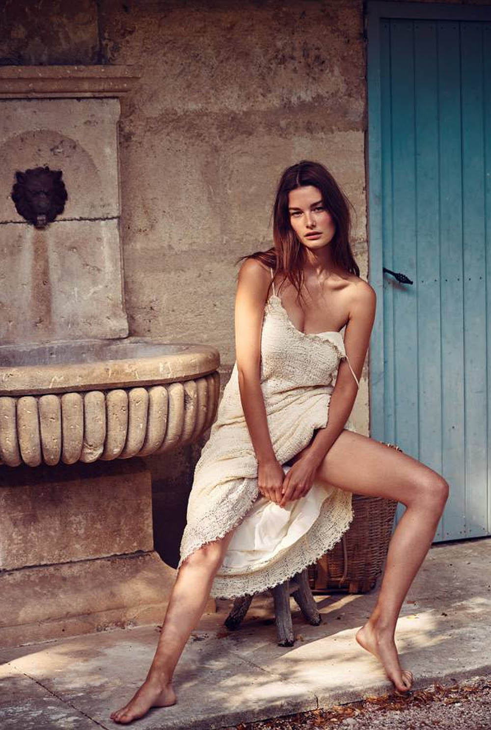 Ophelie Guillermand covers Madame Figaro July 17th, 2020 by Thiemo Sander