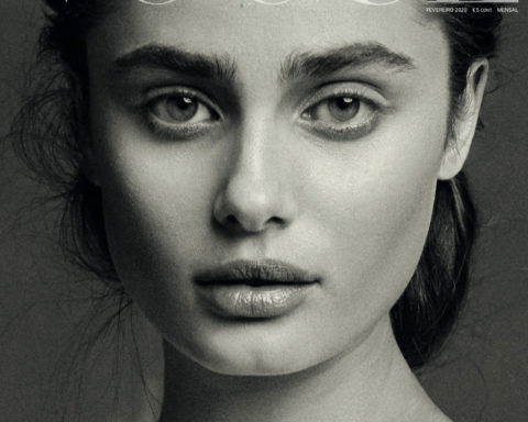 Taylor Hill covers Vogue Portugal February 2020 by Morelli Brothers