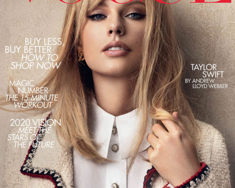 Taylor Swift covers British Vogue January 2020 by Craig McDean