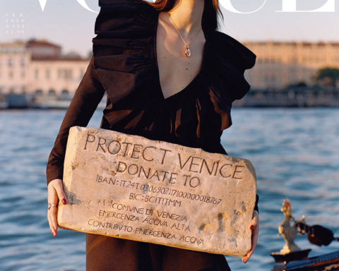 Vittoria Ceretti covers Vogue Italia February 2020 by Oliver Hadlee Pearch