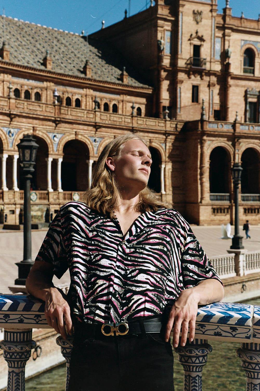 Alexander Zube by Diane Zhao for L'Officiel Hommes Ukraine Summer 2020