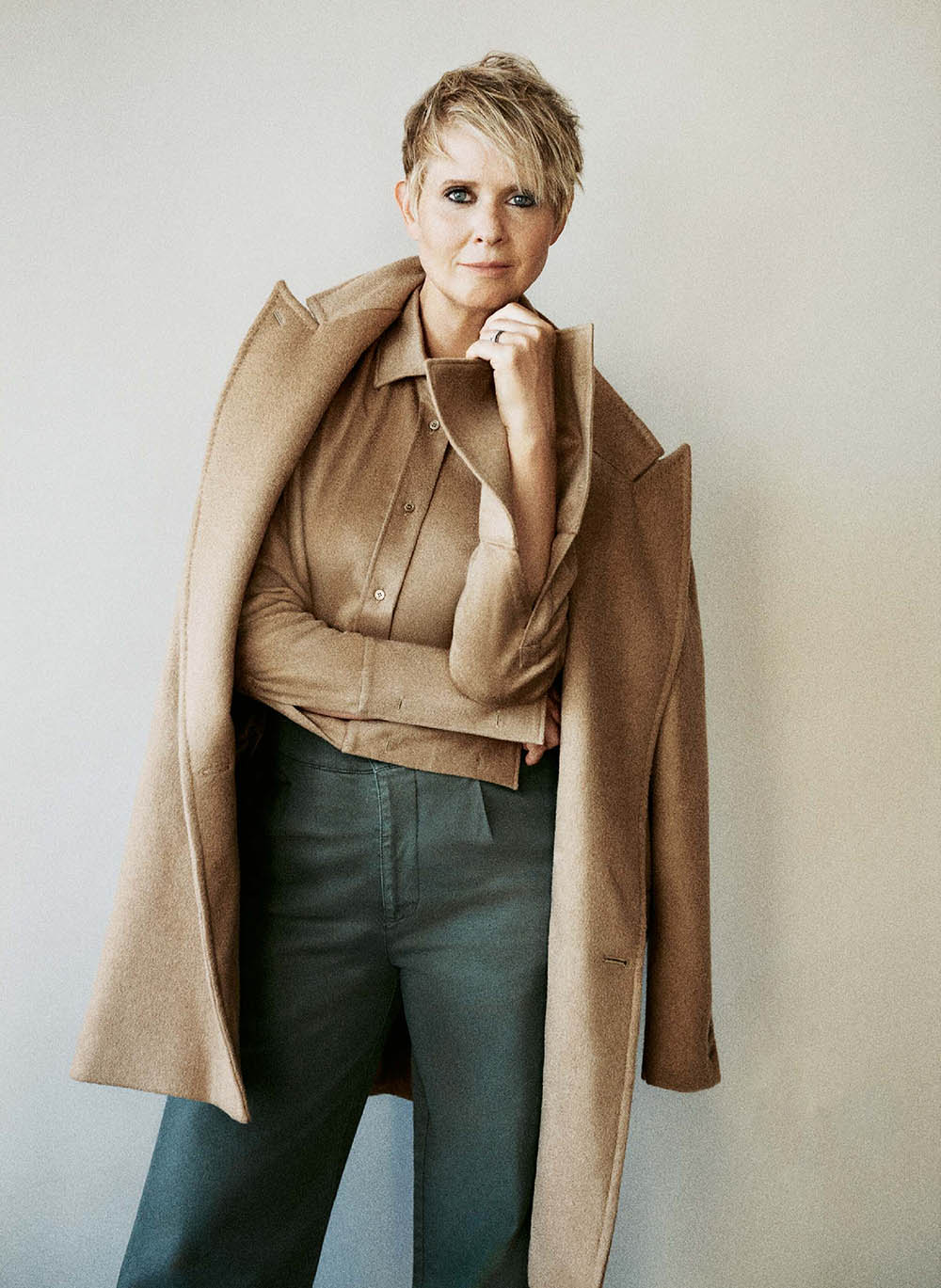 Cynthia Nixon covers The Sunday Times Style August 30th, 2020 by Cass Bird
