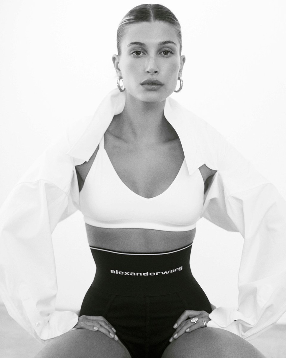Hailey Bieber covers Vogue India August 2020 by Zoey Grossman