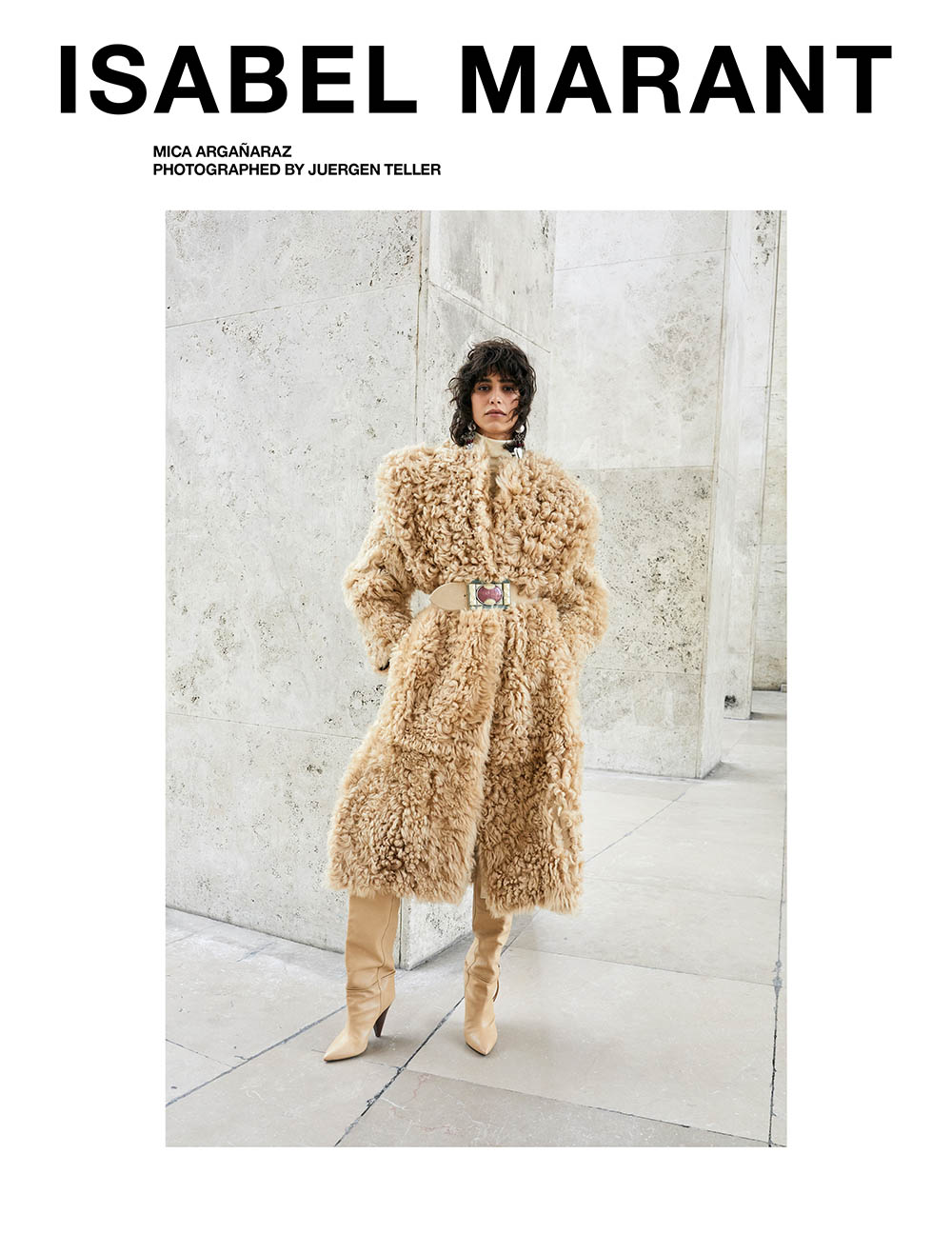 Isabel Marant Fall Winter 2020 CampaignIsabel Marant Fall Winter 2020 Campaign