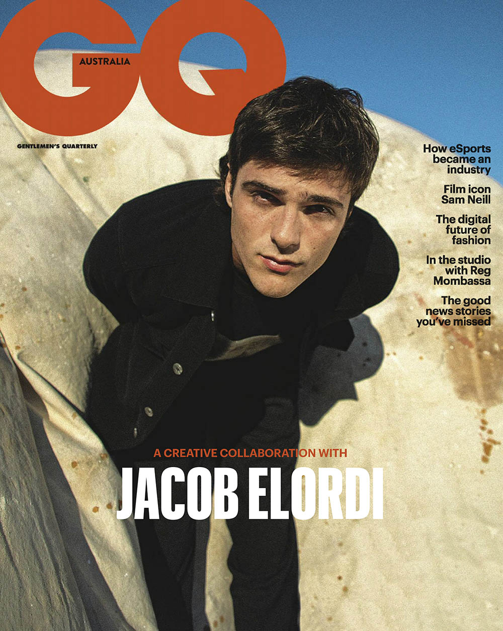 Jacob Elordi covers GQ Australia July August 2020 by Isabella Elordi