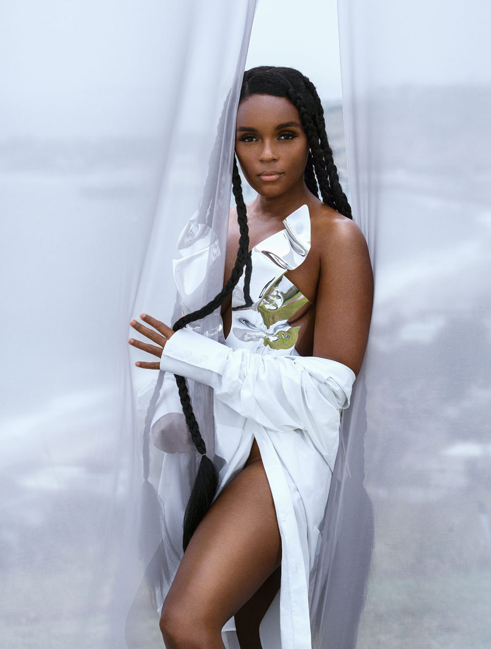 Janelle Monáe covers Shape Magazine September 2020 by Dana Scruggs