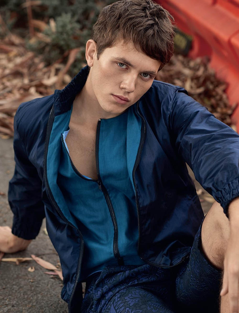 Joel Sheeran by Yann Martea for L'Officiel Hommes Ukraine Summer 2020