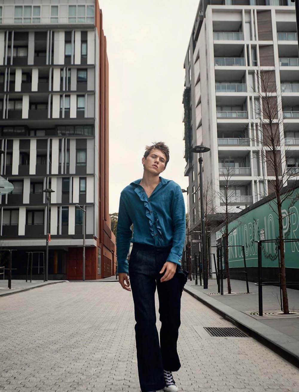Joel Sheeran by Yann Martea for L'Officiel Hommes Ukraine Summer 2020