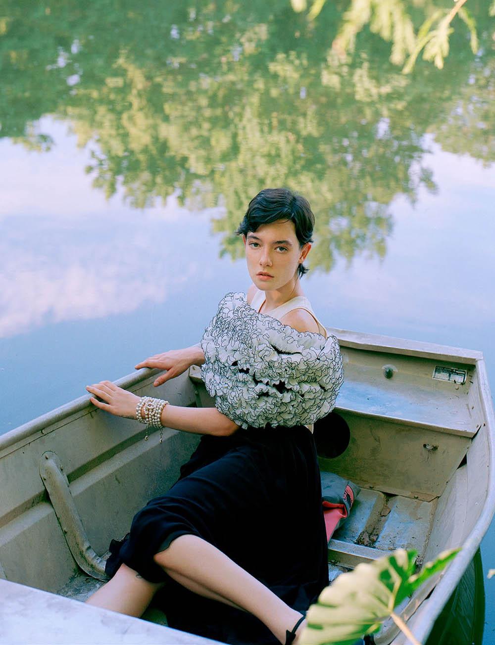 Kenna Matthews by Chris Scheurich for L'Officiel Singapore August 2020
