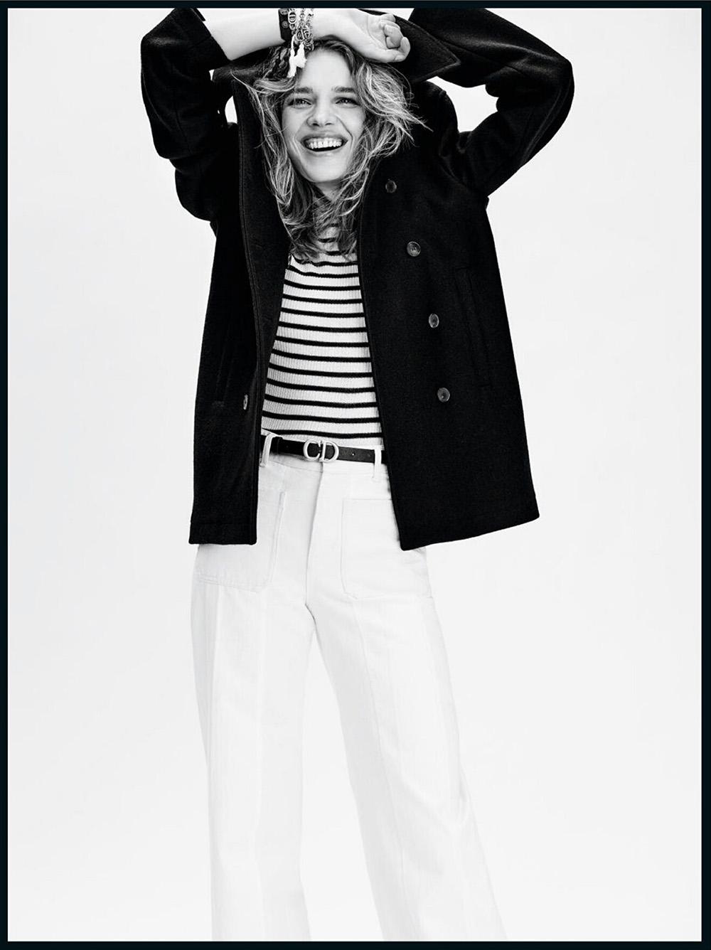 Natalia Vodianova covers Vogue Paris August 2020 by Nathaniel Goldberg
