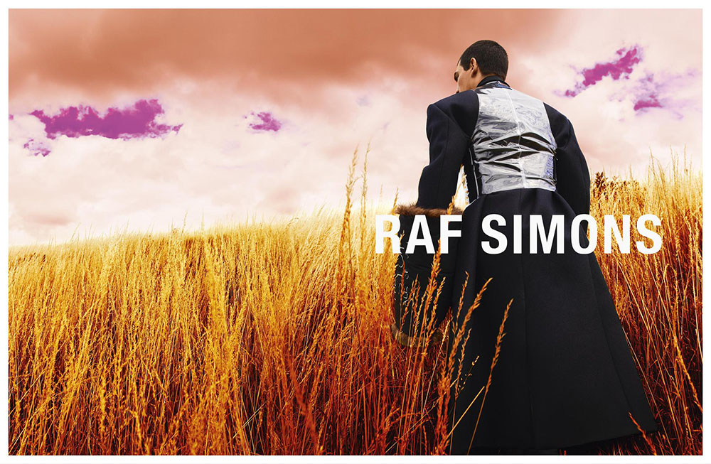 Raf Simons Fall Winter 2020 Campaign