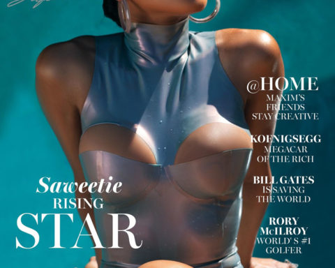Saweetie covers Maxim US July August 2020 by Brandon Almengo