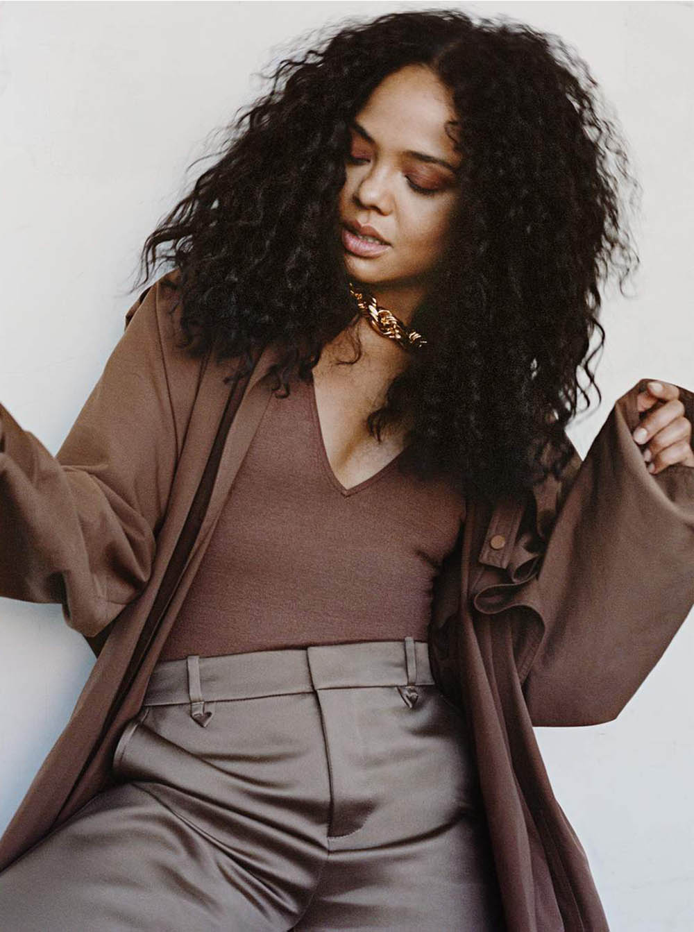 Tessa Thompson covers Porter Magazine August 10th, 2020 by Shaniqwa Jarvis