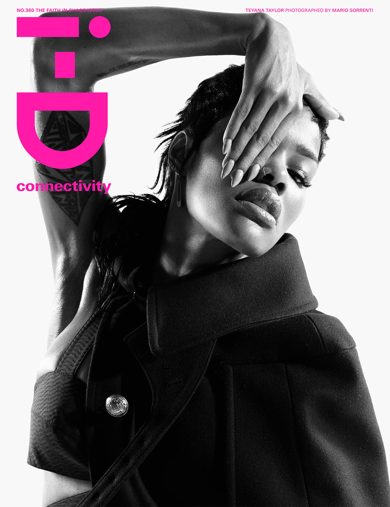 Teyana Taylor covers i-D Magazine Summer 2020 by Mario Sorrenti