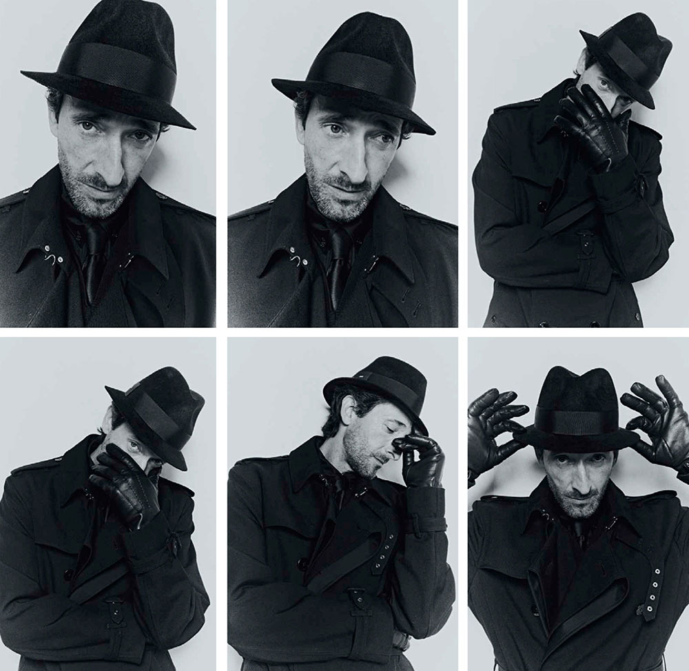 Adrien Brody covers Esquire Mexico September 2020 by Cesar Balcazar