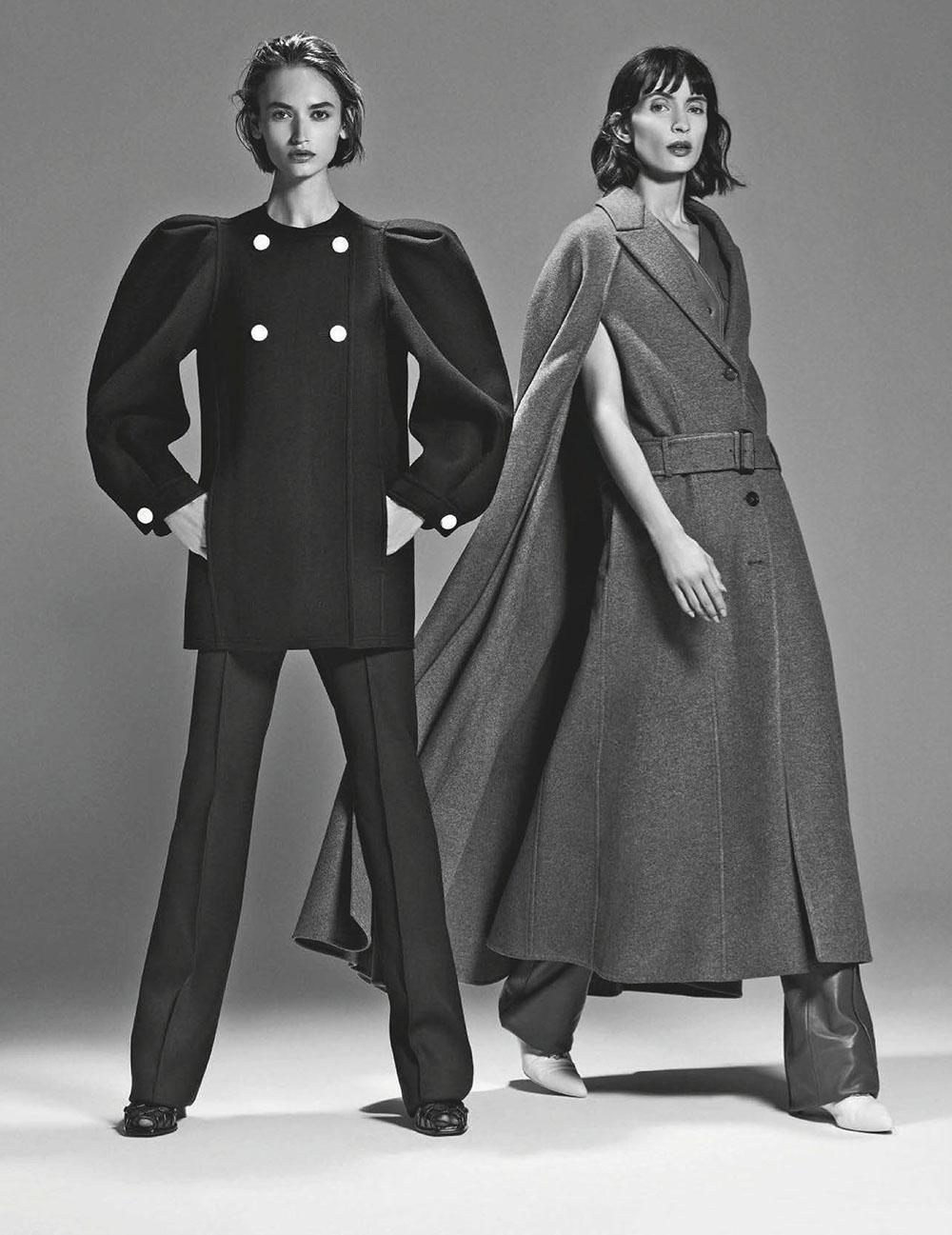 Beatrice Brusco and Mara Nica by Emilio Tini for Vanity Fair Italia September 16th, 2020