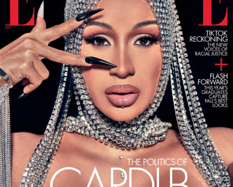 Cardi B covers Elle US September 2020 by Steven Klein