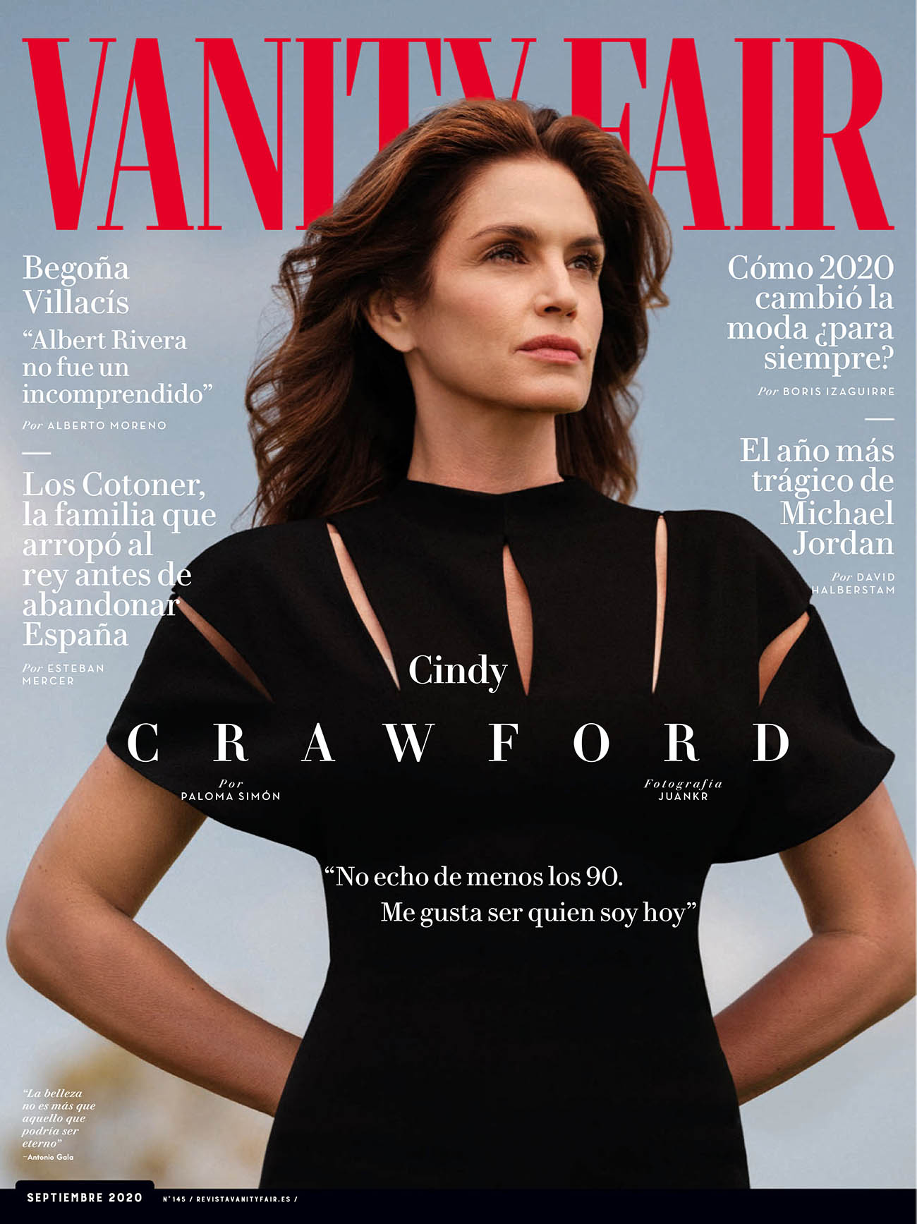 Cindy Crawford covers Vanity Fair Spain September 2020 by Juankr