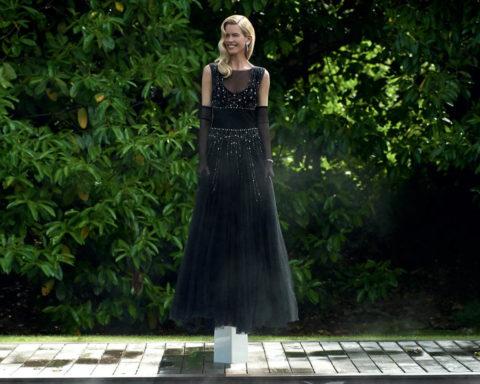Claudia Schiffer by Matthew Vaughn for British Vogue September 2020