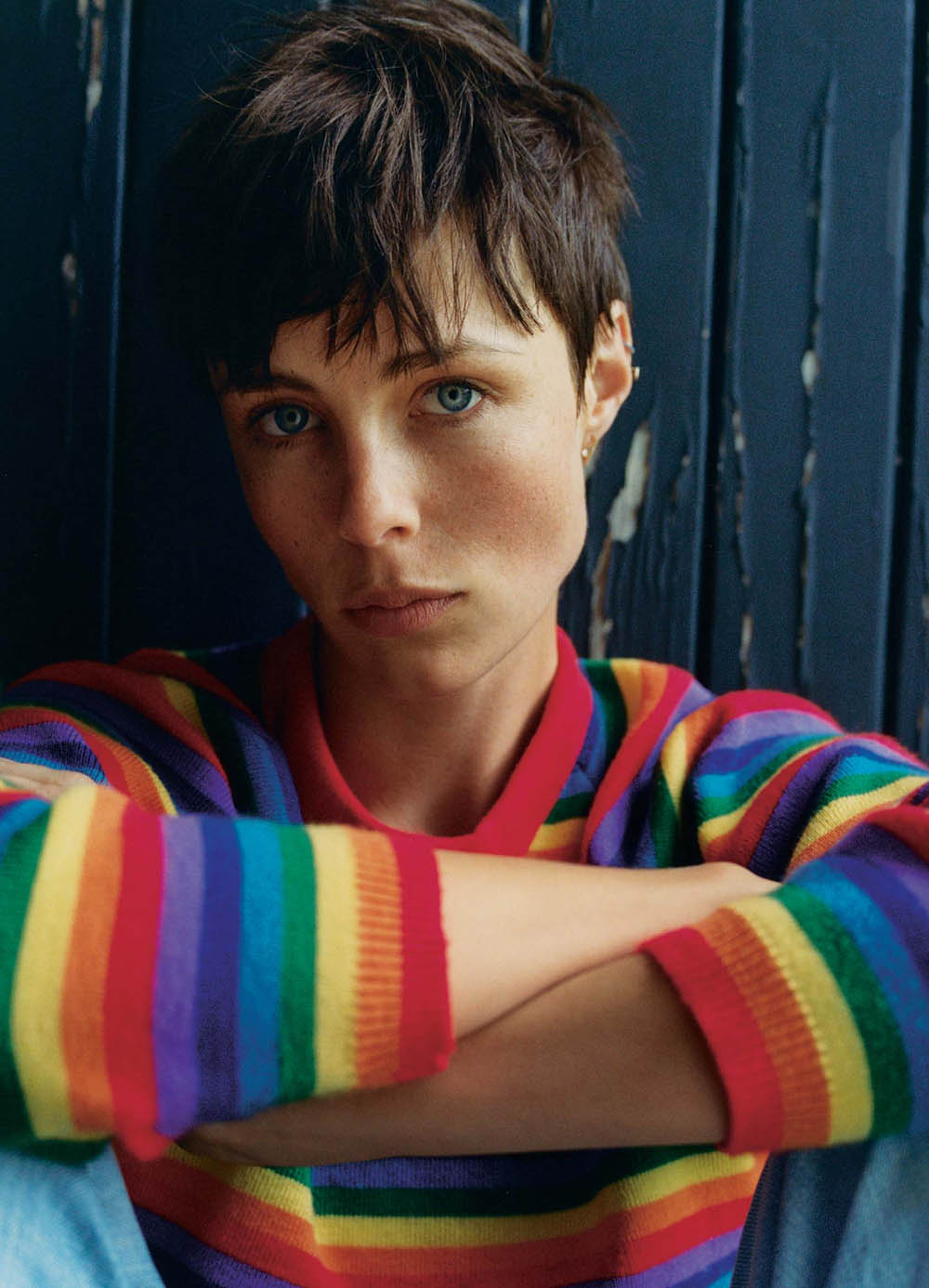 Edie Campbell covers The Sunday Times Style September 6th, 2020 by Dan Martensen
