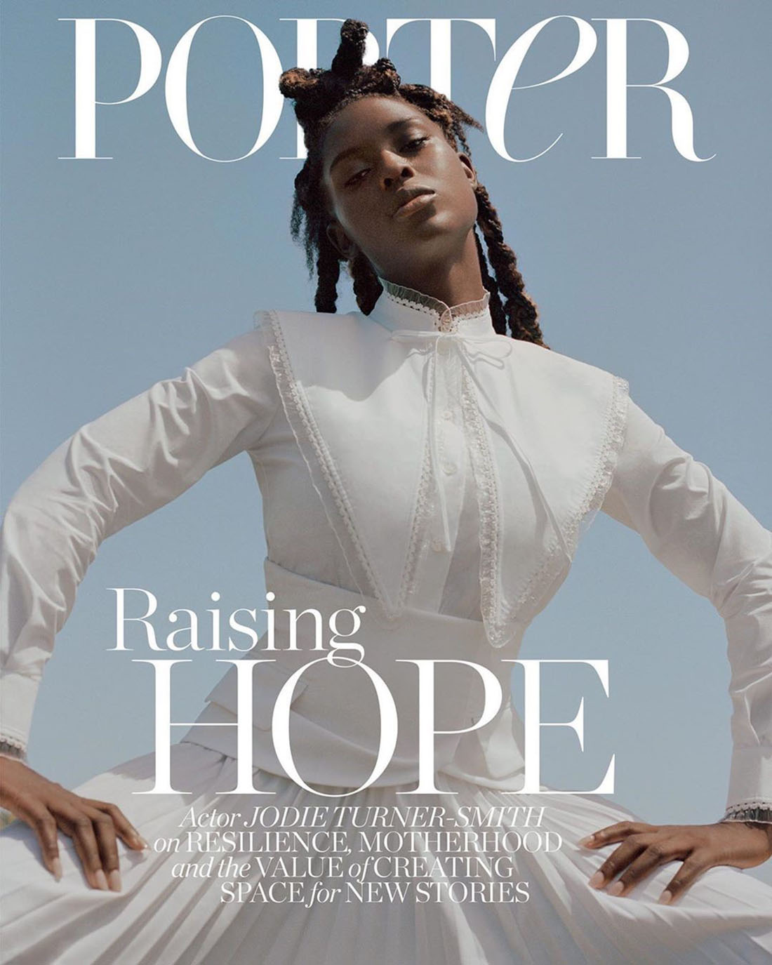 Jodie Turner-Smith covers Porter Magazine September 21st, 2020 by Daria Kobayashi Ritch