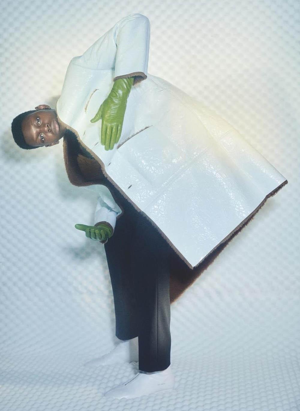 Junior Pereira by Romain Duquesne for Wallpaper* Magazine September 2020