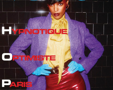 Malika Louback covers Vogue Paris September 2020 by Mikael Jansson