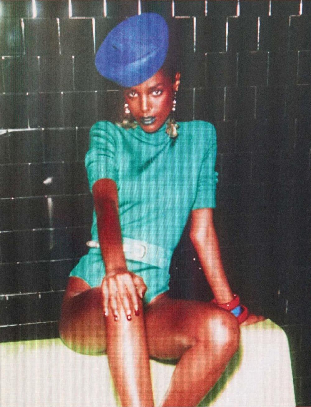 Malika Louback covers Vogue Paris September 2020 by Mikael Jansson