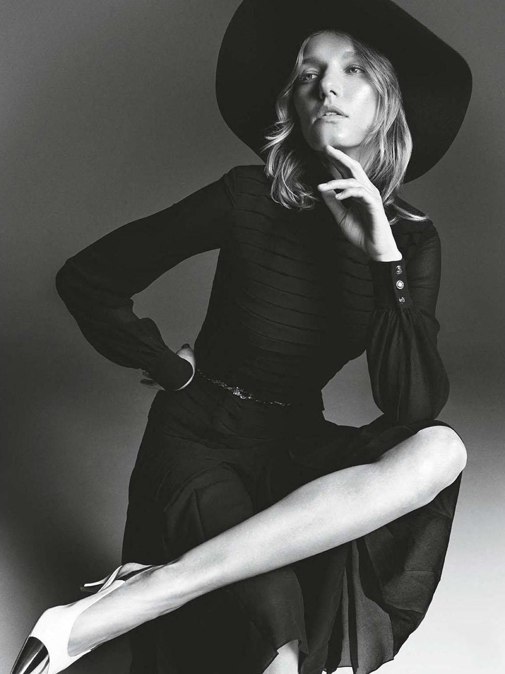 Marique Schimmel by Tom Schirmacher for Elle France September 25th, 2020