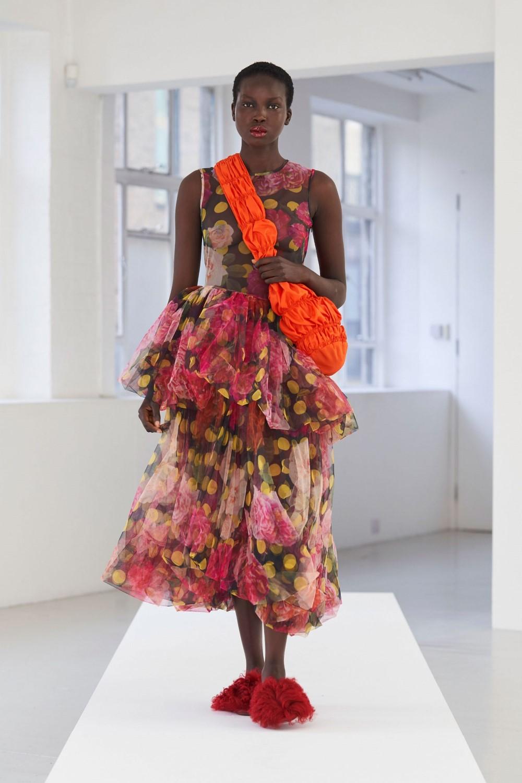 Molly Goddard Spring Summer 2021 London Fashion Week Fashionotography