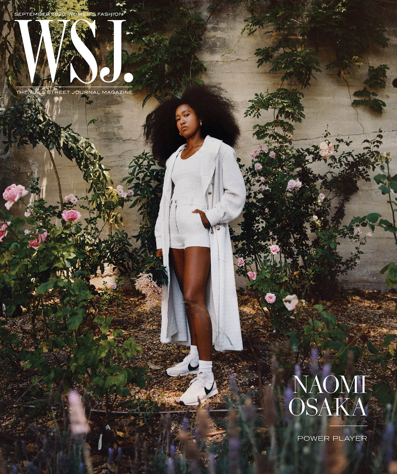 Naomi Osaka covers WSJ. Magazine September 2020 by Micaiah Carter