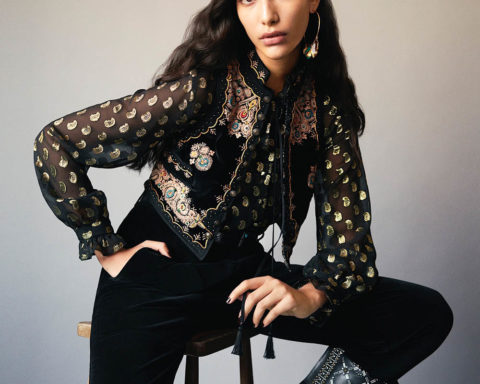 Nour Rizk by Paul Scala for Vogue India September 2020