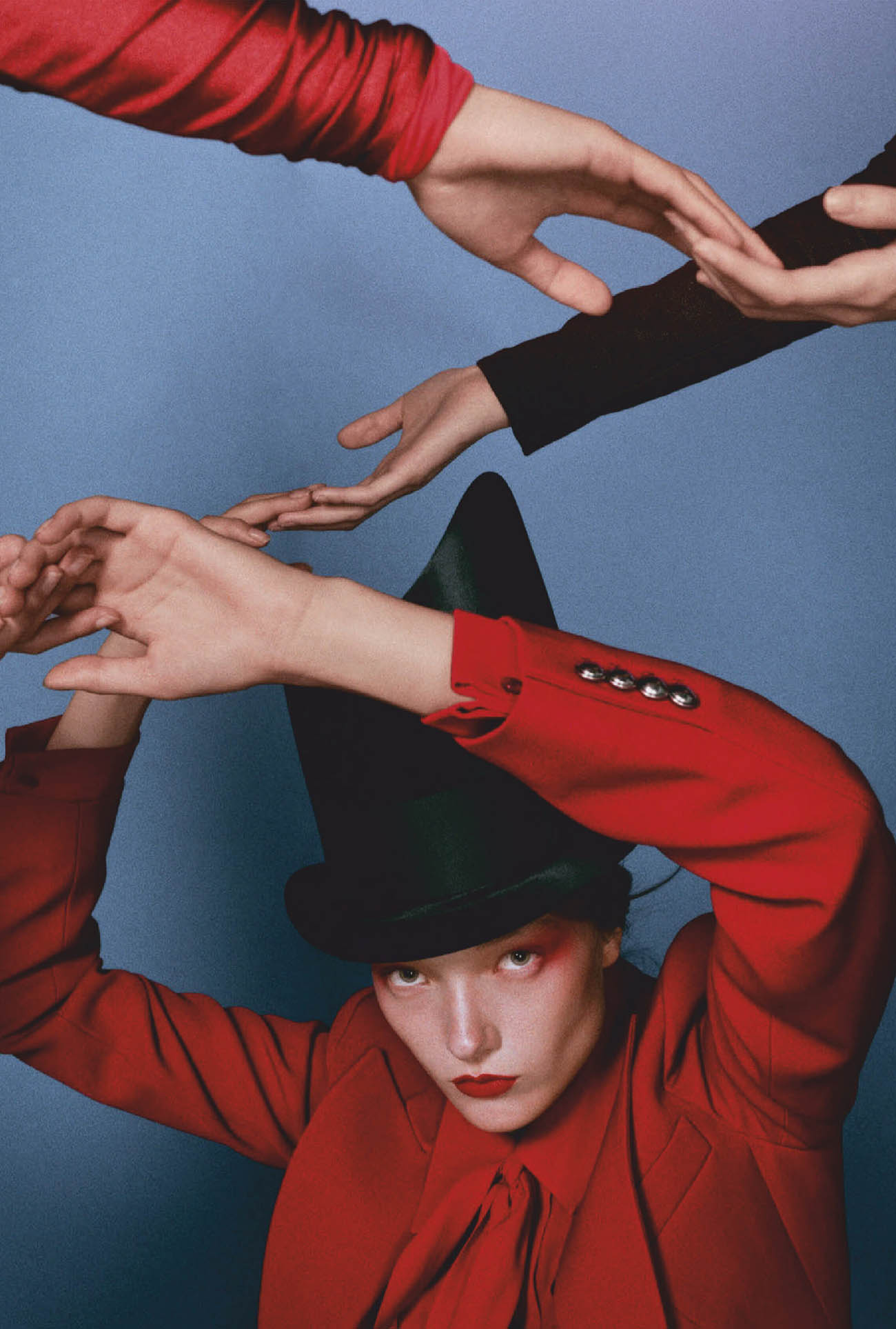 ''Red Alert'' by Marie Schuller for Vogue Taiwan September 2020