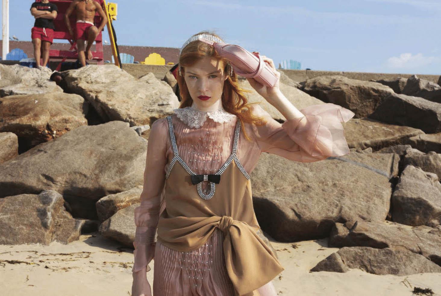 Remington Williams by Tina Barney for Vogue Italia September 2020