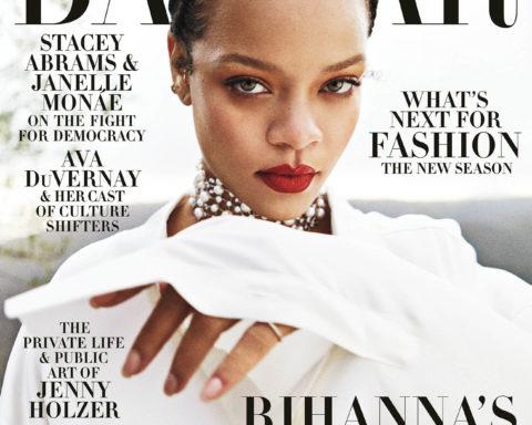 Rihanna covers Harper's Bazaar US & UK September 2020 by Gray Sorrenti