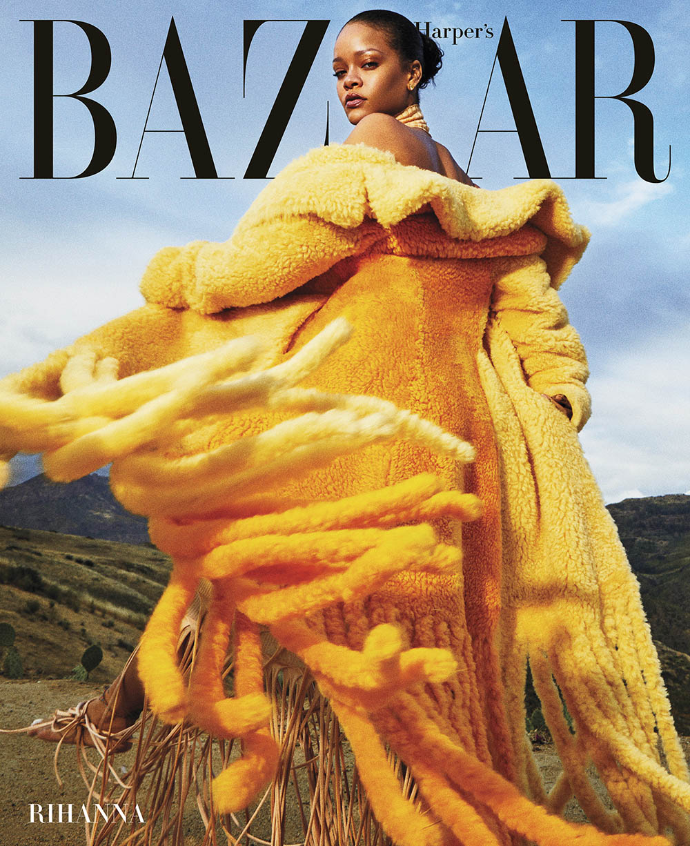 Rihanna covers Harper's Bazaar US & UK September 2020 by Gray SorrentiRihanna covers Harper's Bazaar US & UK September 2020 by Gray Sorrenti