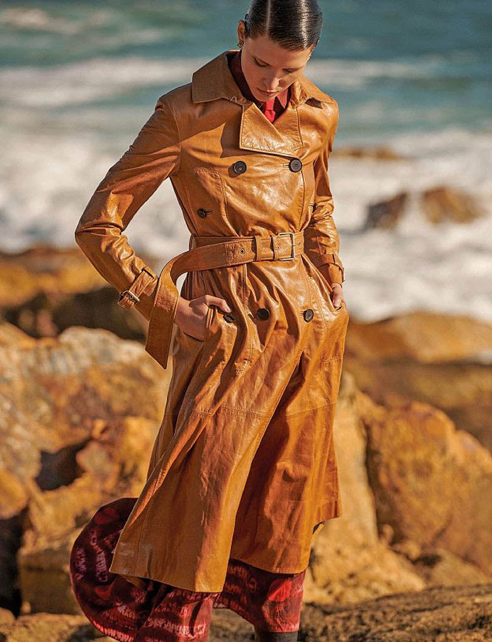 Sara Soric by Frederico Martins for Amica Magazine September 2020