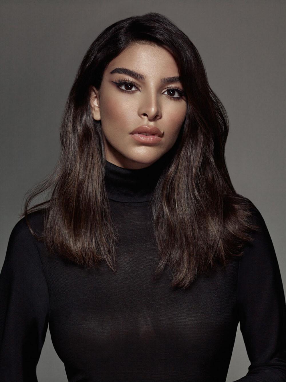 Sofia Symonds covers Vogue Beauty Ukraine September 2020 by Luis Monteiro