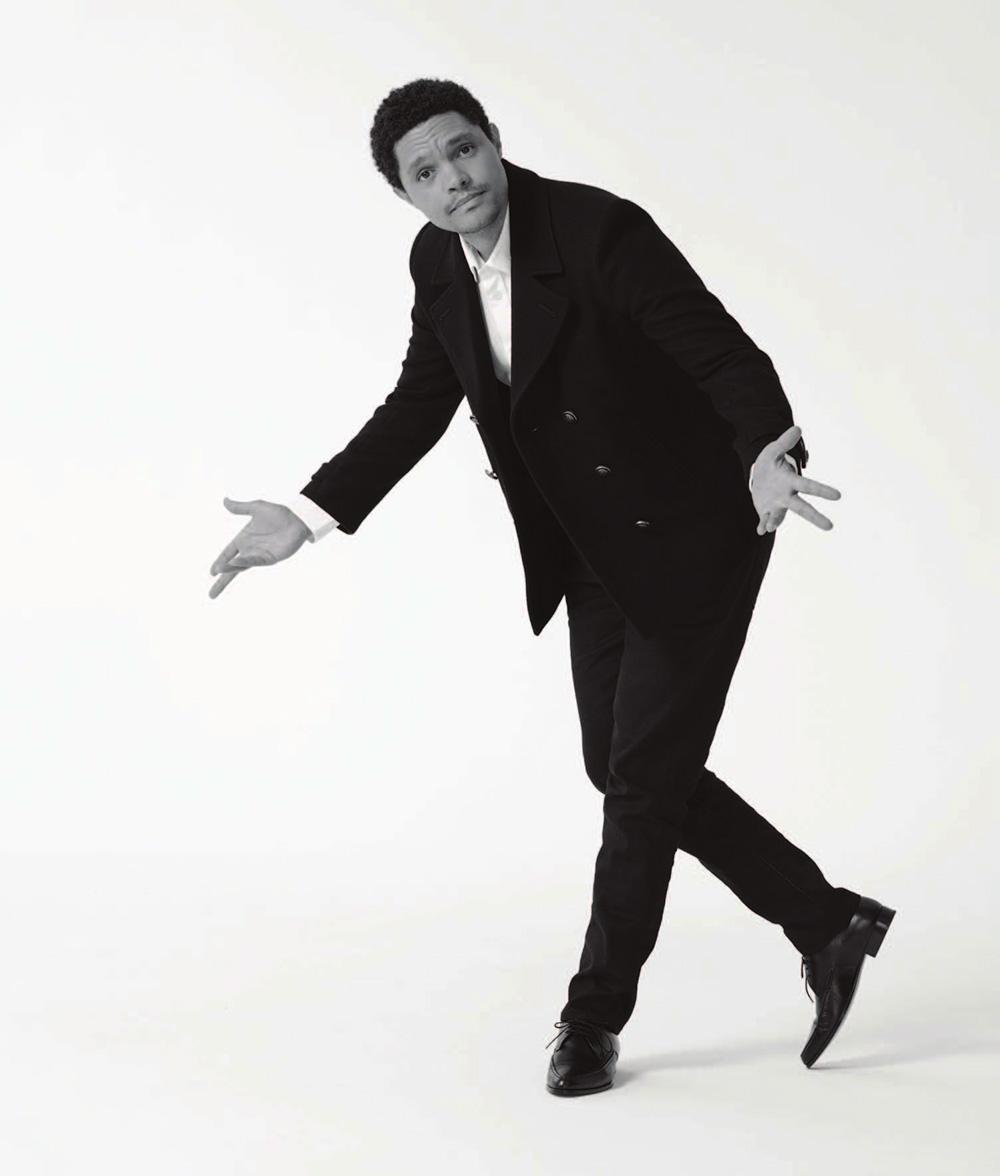 Trevor Noah covers WSJ. Magazine September 2020 Men's Style by Gioncarlo Valentine