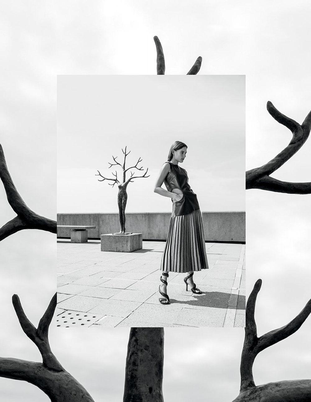 Vera van Erp by Anouk Hart for L'Officiel Mexico September 2020