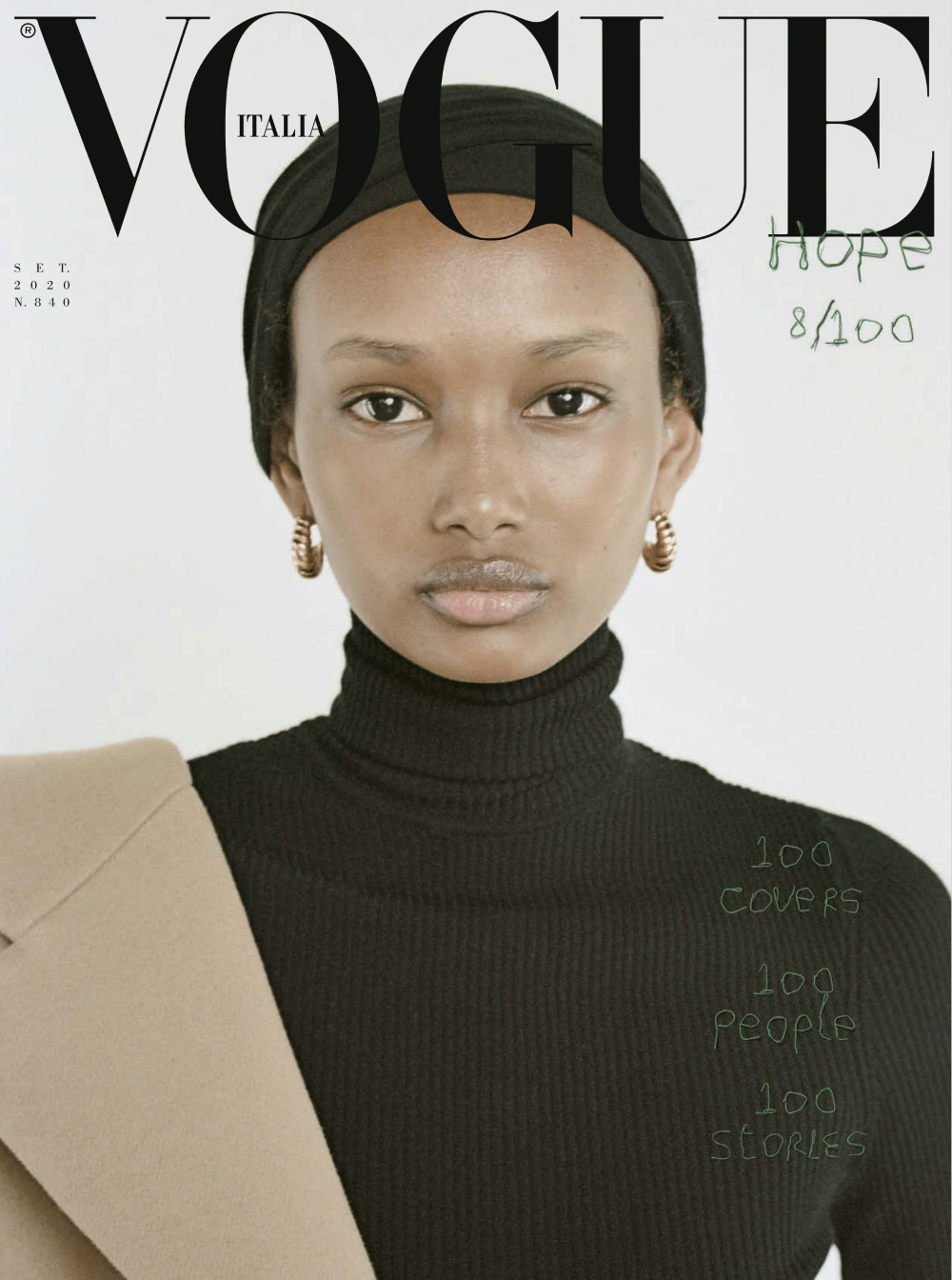 Vogue Italia taps 100 personalities for September 2020 issueVogue Italia taps 100 personalities for September 2020 issue