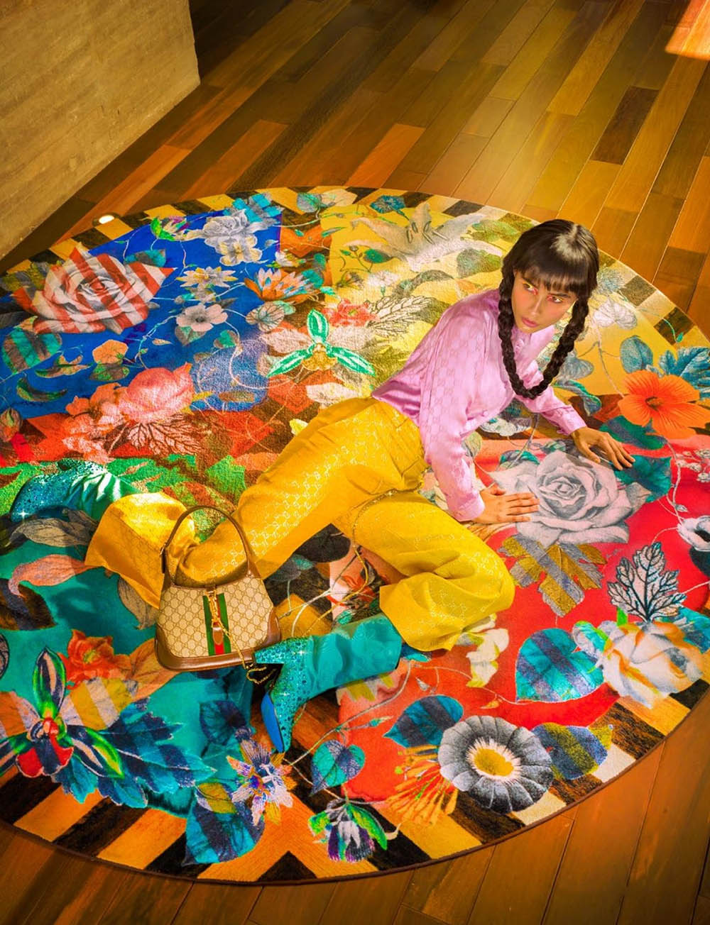 Zaira Mayari by Jvdas Berra for L'Officiel Singapore September 2020