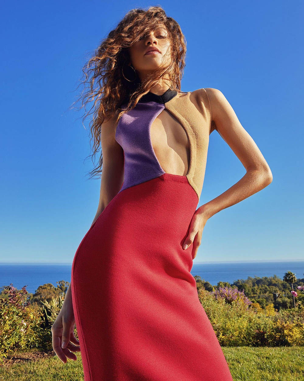 Zendaya covers InStyle US September 2020 by AB+DM